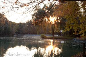 Sunrise on the pond. by Photoguy42