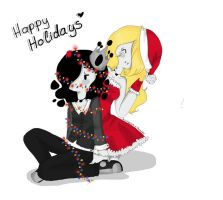 Happy Holidays by Drawing-Heart