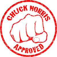 Chuck Norris Approved by RaveMasquerade