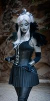 Black Leather and Feathers by ferasha