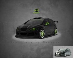 Seat Leon - My first Cartuning by monarxy