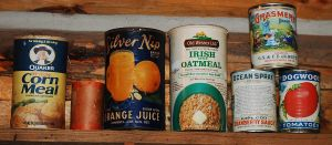 old cans by MLeighS