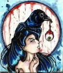 Raven Queen, Lillian by TheLadyJ