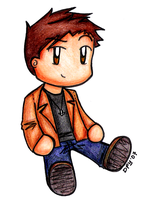 SPN - Dean plush thingy by dongpeiyen1000