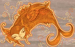 Goldfish by liliesformary