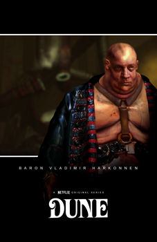 The Baron ''Dune'' character concept poster by NiteOwl94