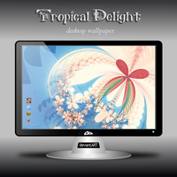 Tropical Delight Wallpaper by NatalieKelsey