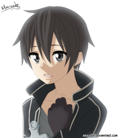 Kirito - Sword Art Online by MarxeDP