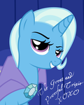 Trixie Poster by MoongazePonies