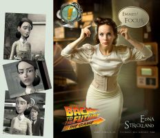 Edna Strickland - actress by cylonka