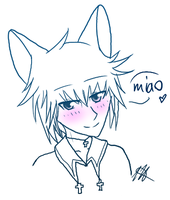 Ikuto Sketch by Aquillic-Tiger
