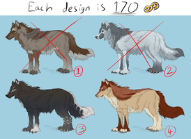 POINT Adoptables batch 1 .:CLOSED:. by Jenny2-point-0