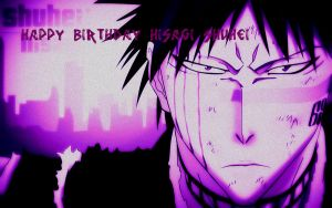 Happy Birthday Hisagi by Kurohisagi
