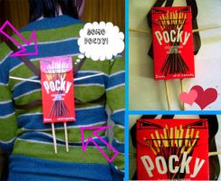 Domo Pocky Backpack by Button-Eyed-Beauty