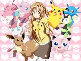 .: Asuna the Pokemon trainer :.