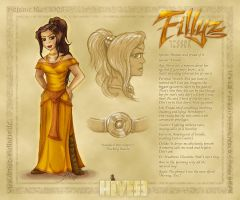 Character Sheet - Fillyz by Draco-Stellaris
