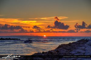 Sunrise-at-South-Boca-Raton-Inlet-Beach-Park by CaptainKimo