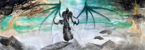 Malthael in High Heavens by ivixus