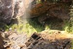 A view behind Rainbow Falls by demodred86