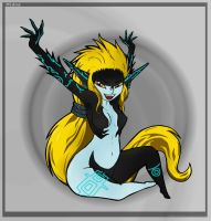 MysteruoisFoxGirl's Midna 3 by The-Sky-Is-Up