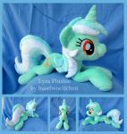 Lyra Heartstrings Plushie by haselwoelfchen