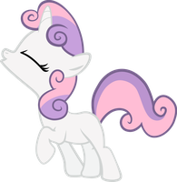 Sweetie Belle 'Let the joy of dreamland find you!' by MuffinName