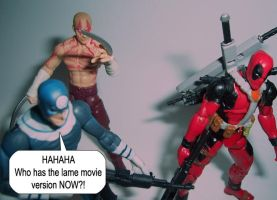 Deadpool and Bullseye... by Hext