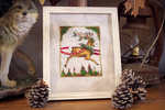 Christmas Couriers Blitzen by BlushiexD