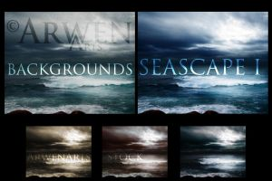 PACK - SEASCAPES BACKGROUNDS I by ArwenArts