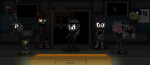 Five Nights at Jonic's (Non Animated) by JonicOokami7
