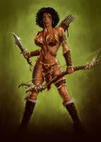 Amazon Warrior by donjapy2011