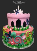 Princess Cake by ArteDiAmore