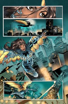 Witchblade 160 001 colors by nahp75