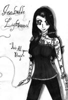 Isabelle Lightwood by x-Radar-x
