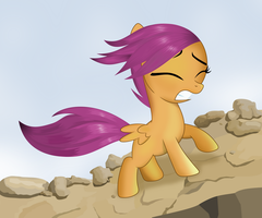 Scootaloo's adventure by tgolyi