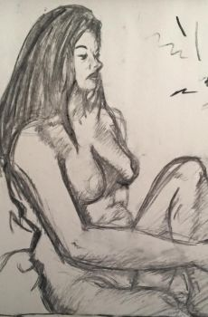 Figure Drawing by Dillon-the-hedgehog