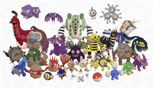 Spore Pokemon II by pokequaza