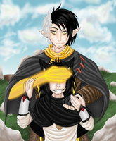 Septimus and Ares by HerrFenix
