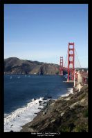 Baker Beach 2, San Francisco by Baysiks