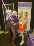 CEII: The Dark Woman cosplay + Ashley Eckstein by Sofie3387