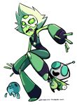 Peridot and GIR by DIN0LICH