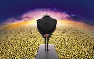 crowd, Despicable Me, Animated Movies by Paullus23