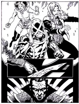 Xmen sample pg 5 by luisalonso