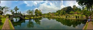 Le Water Palace de Tirtagangga part 1 by partoftime