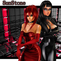 Sunstone: Leather-n-Latex IMVU Cover #1 by LaraLuvsMe