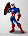 Captain America by KrisSmithDW