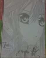 Yuuki From Vampire Knight by bluegirl1123