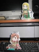 Germania vs Rome-paper child by EmjayxD
