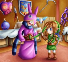 Ravio's Shop by Lady-of-Link