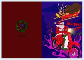 Xmas Card Colored by PhoenixGR